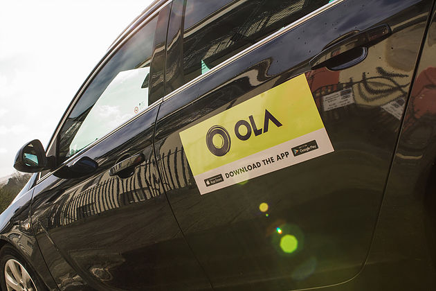 Ola cab logo and referral discount code for free ride 0YK2G2U